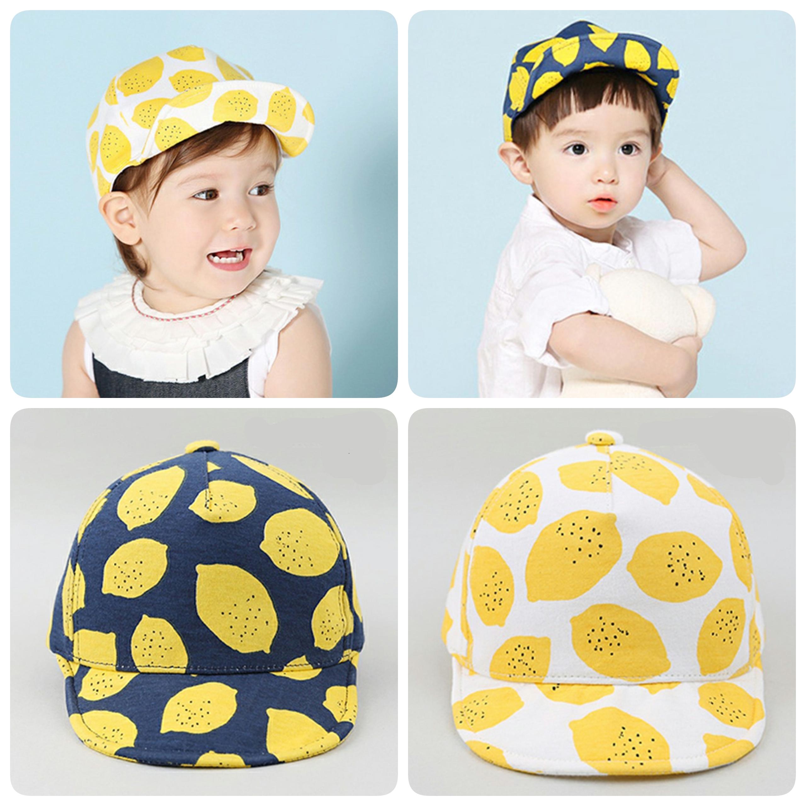 Baby Touch หมวกเด็ก แก๊ปเลม่อน (Hat - AJ)