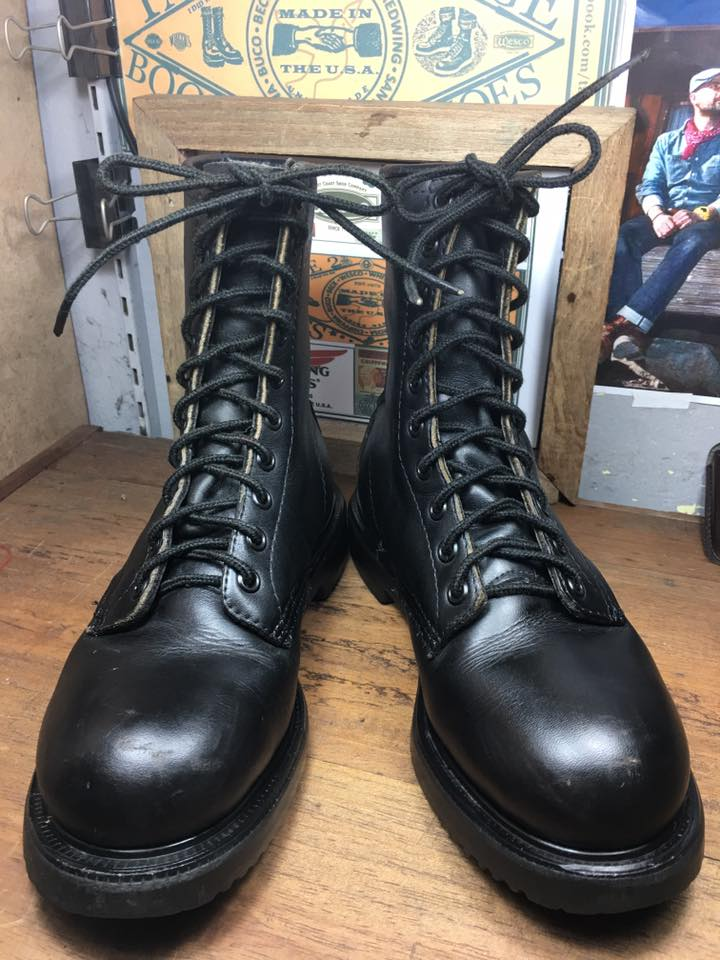 Red wing vintage safety work boots size 4.5D /23cm หัวเหล็ก ราคา 1690