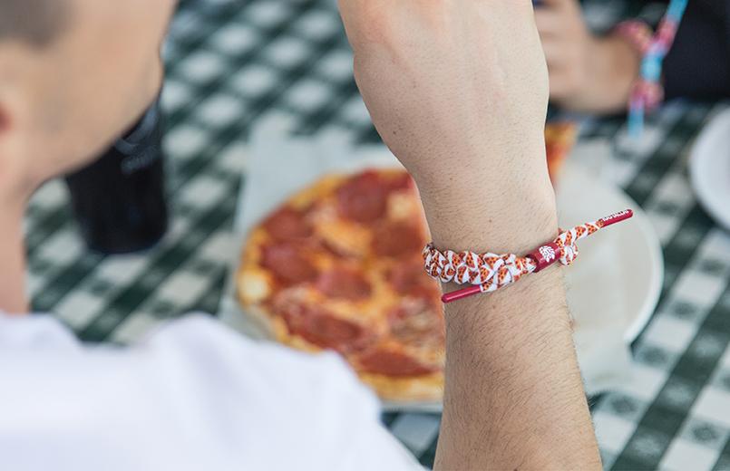 Rastaclat - PIZZA CLASSIC BRACELET