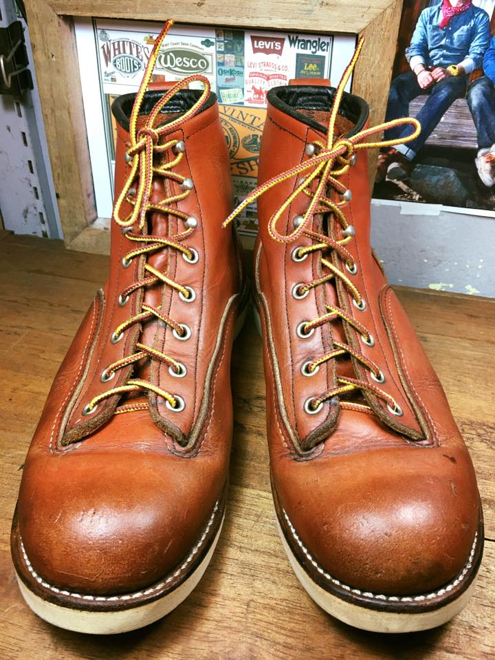 116. RED WING 2907 made in USA size 10D