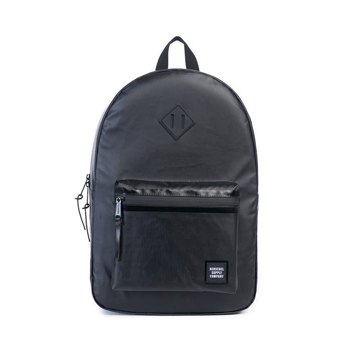 Herschel Ruskin Backpack - Black Polycoat