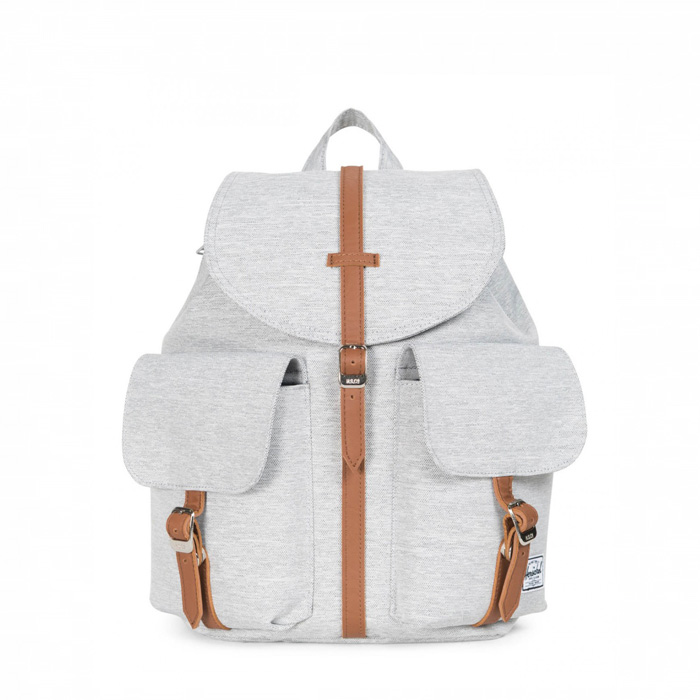 Herschel Dawson Backpack | XS - Light Grey Crosshatch
