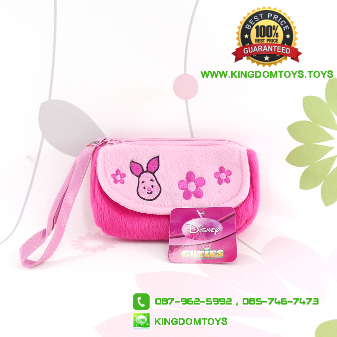 กระเป๋าใส่โทรศัพท์พิกเล็ต Cutie Piglet [Disney]
