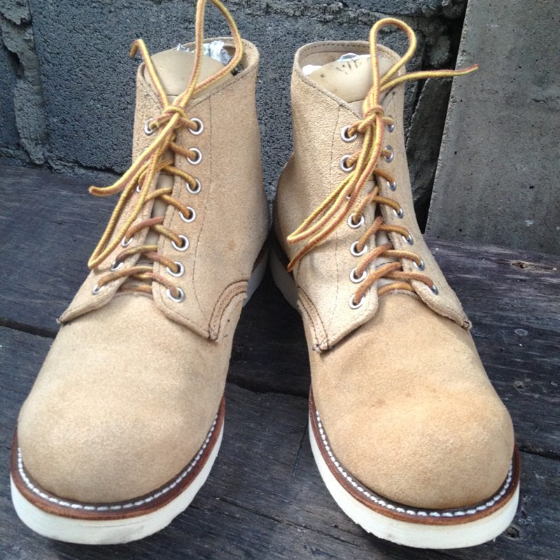 .RED WING 8167 SUEDE LEATHER