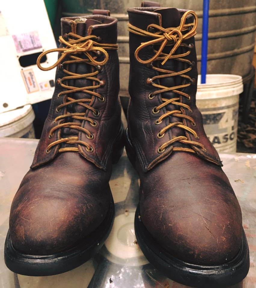 Vintage RED WING 931 packer work boot size 11Ee