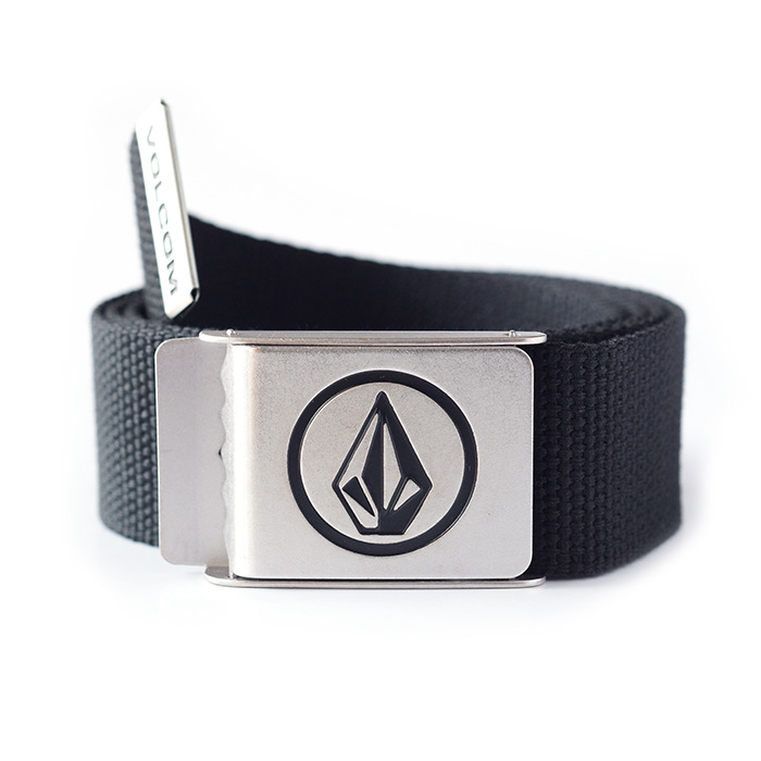 Volcom Circle Web Belt - Black