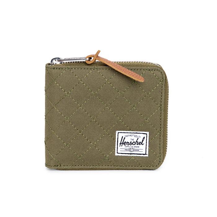 Herschel Walt Wallet - Quilted Army