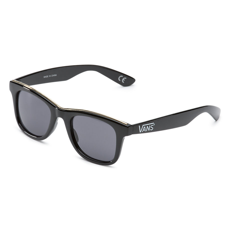 Vans Breakwater Sunglasses - Black / Gold Rim