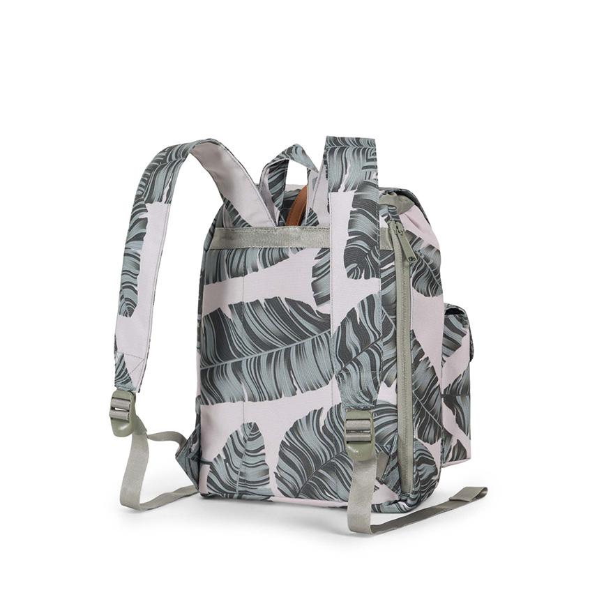 Herschel Dawson Backpack | XS - Silver Birch Palm / Tan - ด้านหลัง