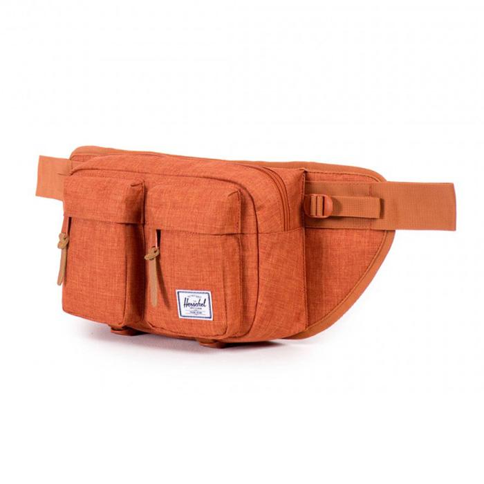 Herschel Eighteen Hip Pack - Burnt Orange Crosshatch