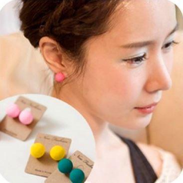 Pre-order ตุ้มหู สีนีออนมีให้เลือกหลายสีด้วยกัน Pink , Green , Yellow , Sky Blue , Blue , Black