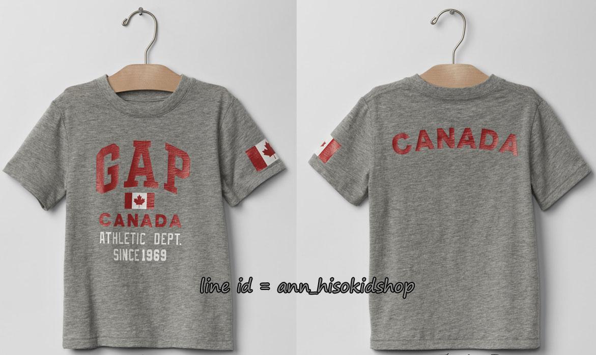 1738 Baby Gaps T-Shirt - Grey ขนาด 5 ปี