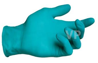 ถุงมือไนไตร (์Nitrile Gloves) สีเขียว ลังละ 500 คู่ กล่อง 230 บาท