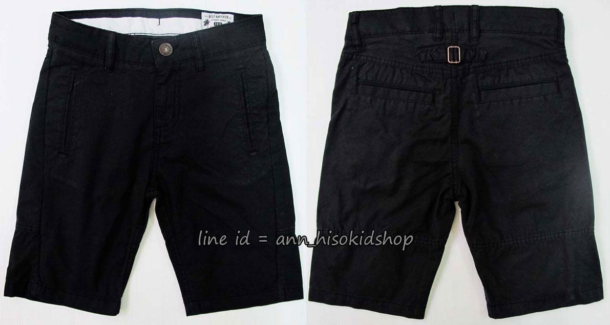 1762 H&M Short - Black ขนาด 8-9,11-12,12-13,13-14, 14+ ปี