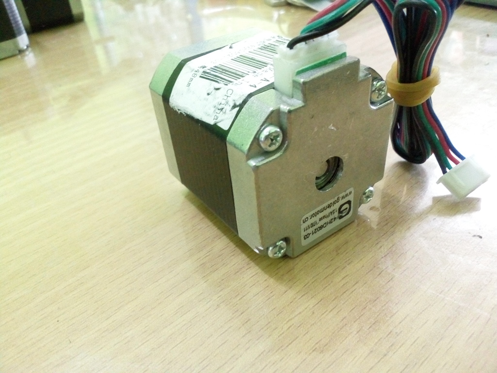 42HD6021 Nema 17 Stepper Motor 42 motor bipolar 4 leads 48mm High 1.5A 500mN.m (2 Phases) for 3D printr and CNC machine