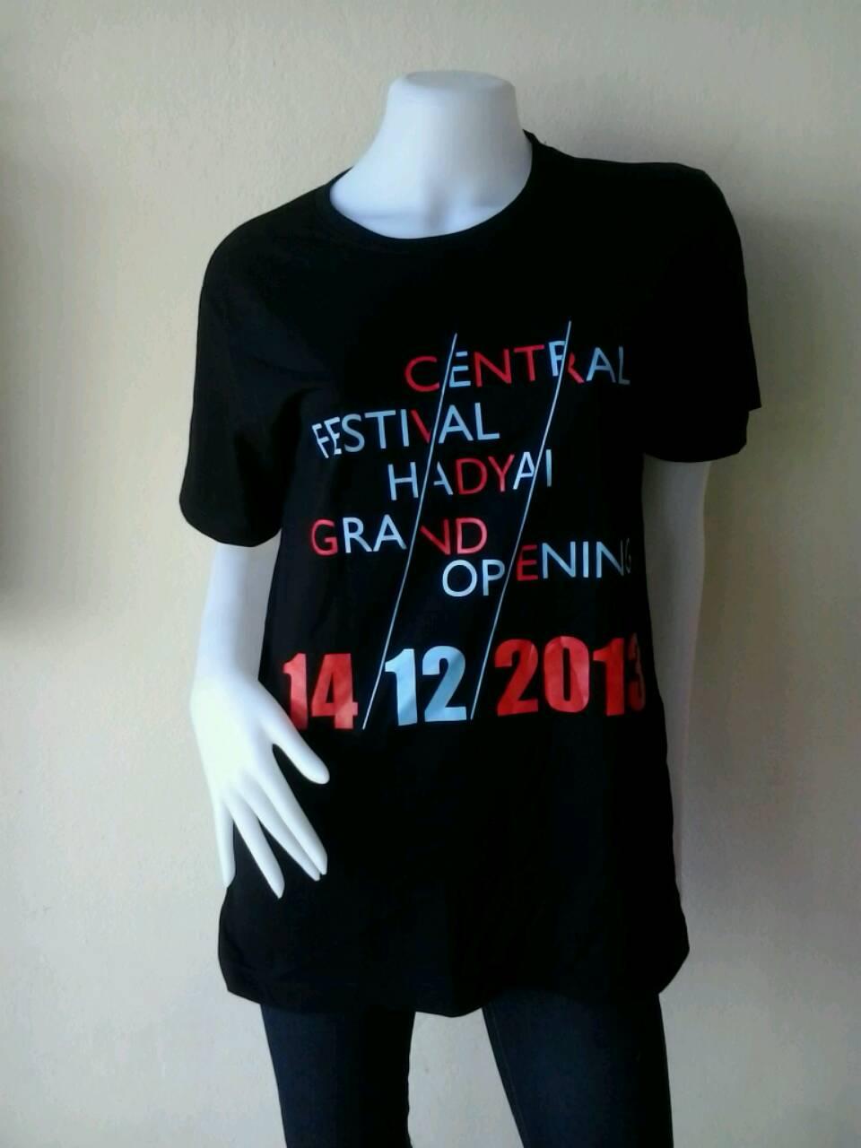 เสื้อคอกลม Central Festival Hadyai Grand Opening