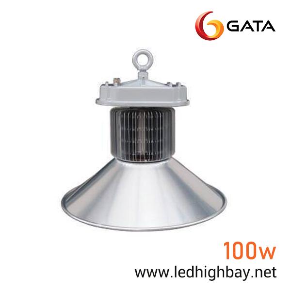 โคมไฮเบย์ LED 100w ยี่ห้อ GATA (แสงขาว)