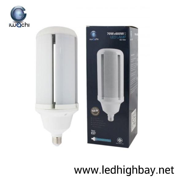 หลอดไฟไฮเบย์ LED 70w ยี่ห้อ Iwachi (แสงส้ม)