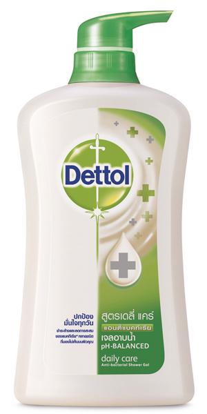 ครีมอาบน้ำเดทตอลเจลอาบน้ำแอนตี้แบคทีเรีย สูตรเดลี่แคร์ 500 มล. (สีเขียว) ซื้อ 1 แถม 1