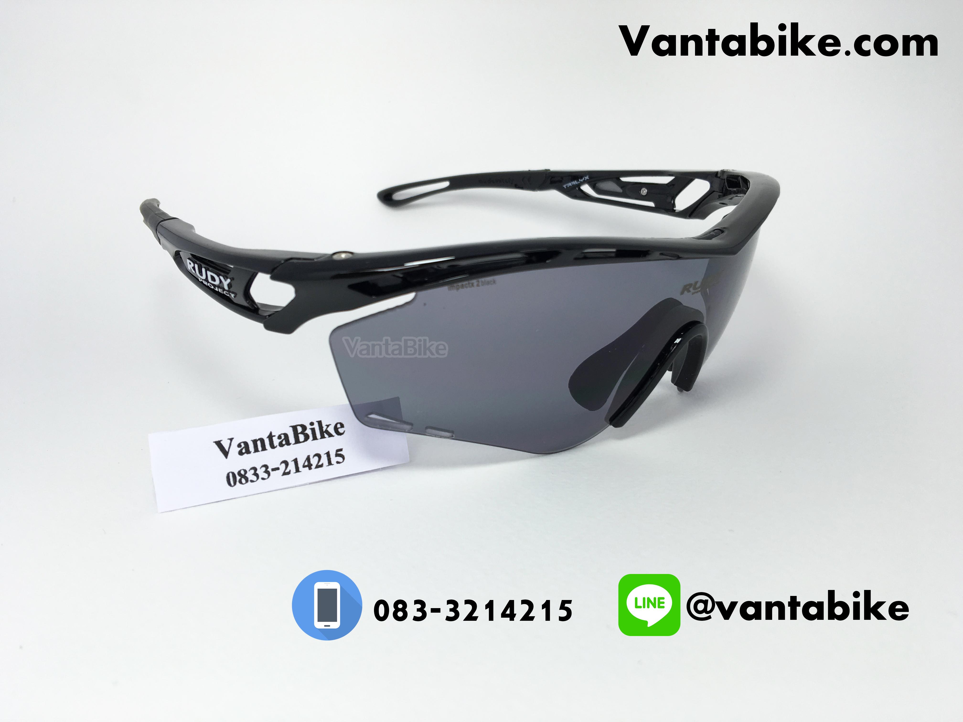 แว่นตาปั่นจักรยาน Rudy Project [สีดำ]