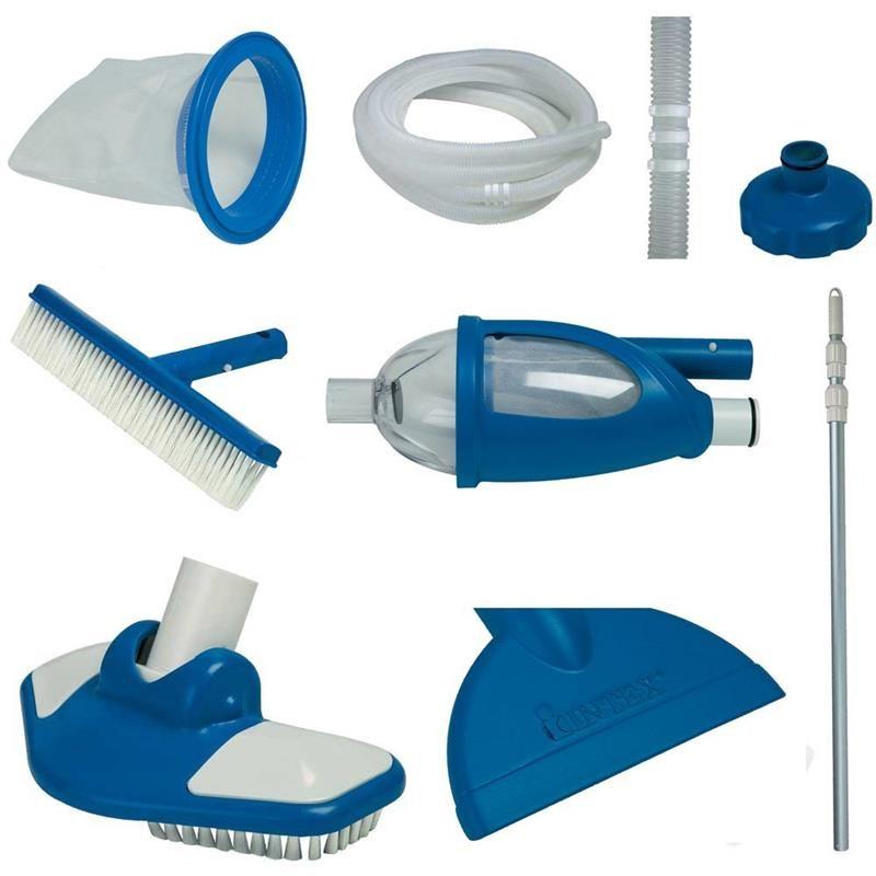INTEX ชุดอุปกรณ์ทำความสะอาดสระ เดอลุกซ์ (ใช้กับสระ 18 ฟุต ขึ้นไป)