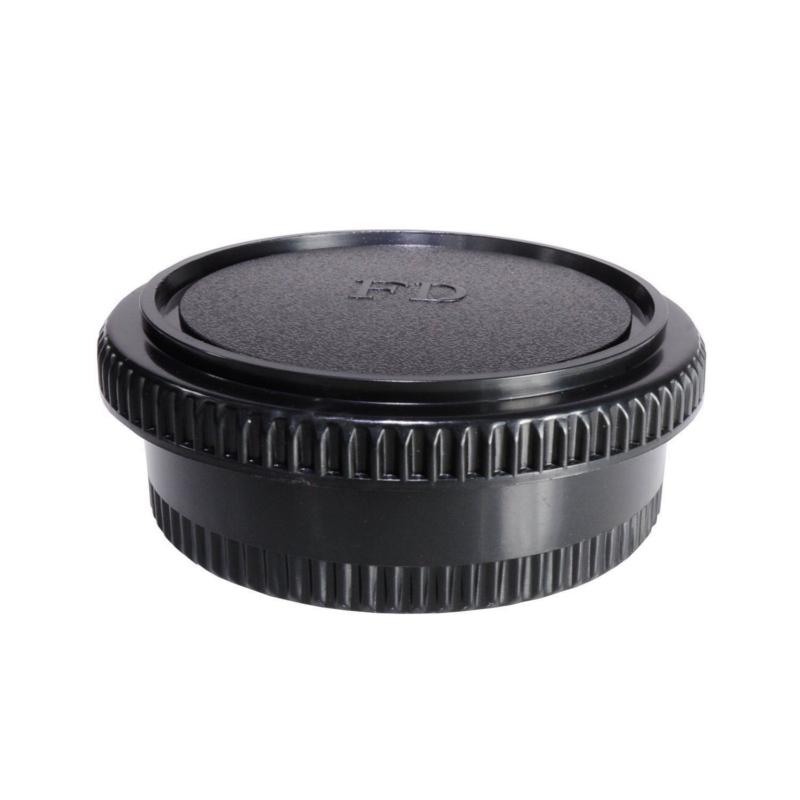 Canon FD FL Mount Rear Lens Cap ฝาปิดท้ายเลนส์ + Body Cap ฝาปิดบอดี้