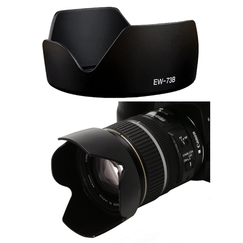 Canon Lens Hood เทียบเท่า EW-73B for EF-S 18-135mm f/3.5-5.6 IS STM, EF-S 17-85mm f/4-5.6 IS USM