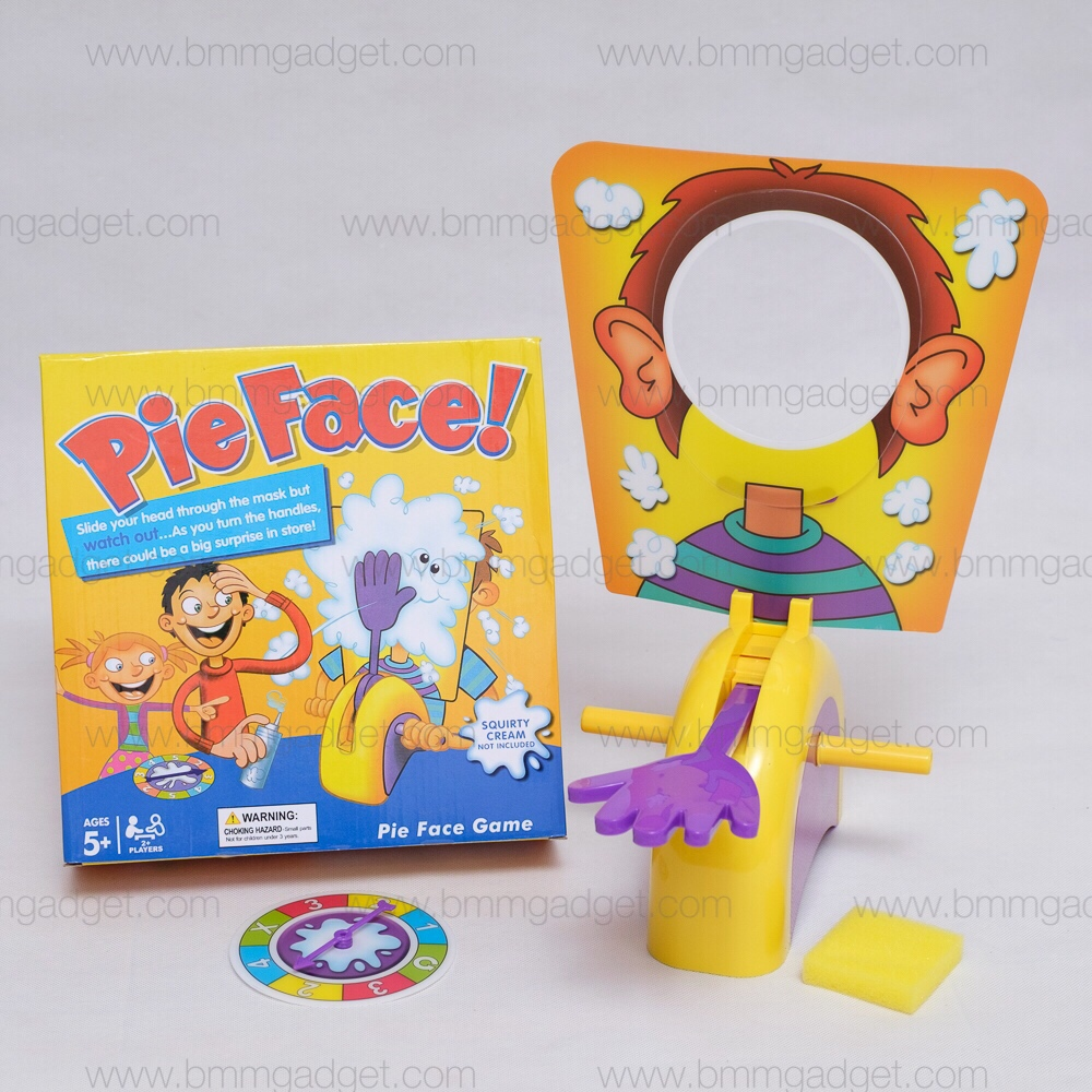 Pie Face Game เกมส์พายปาหน้า