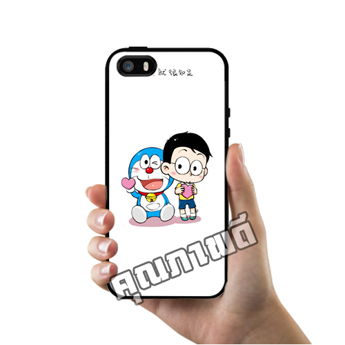 เคส ซัมซุง iPhone 5 5s SE โนบิตะ โดเรม่อน ตัวเล็ก น่ารัก เคสน่ารักๆ เคสโทรศัพท์ เคสมือถือ #1207