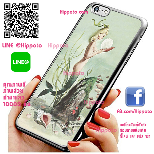 เคส ไอโฟน 6 / เคส ไอโฟน 6s โลโก้ เงือก เคสสวย เคสโทรศัพท์ #1120