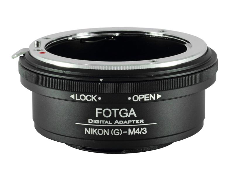 Nikon(G)-M4/3 Fotga Mount Adapter ปรับรูรับแสงได้ Nikon G AI AIs F AF Mount Lens to Olympus Panasonic MFT Camera