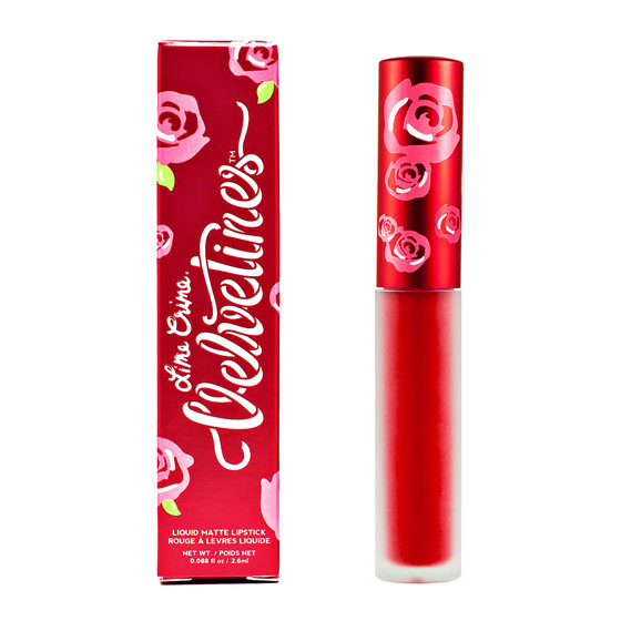 Lime Crime Matte Velvetines #Red Velvet