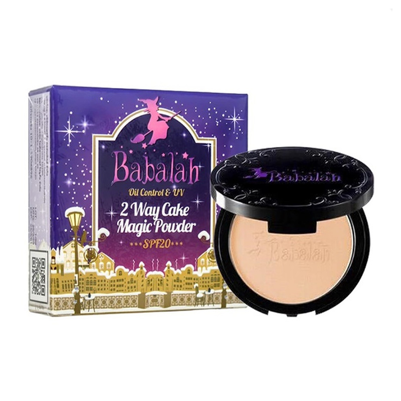 Babalah Magic Powder Oil Control & UV 2 Way Cake #01