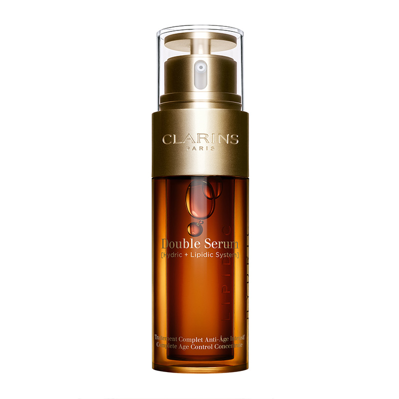 Clarins Double Serum [Hydric + Lipidic System] Complete Age Control Concentrate 30ml