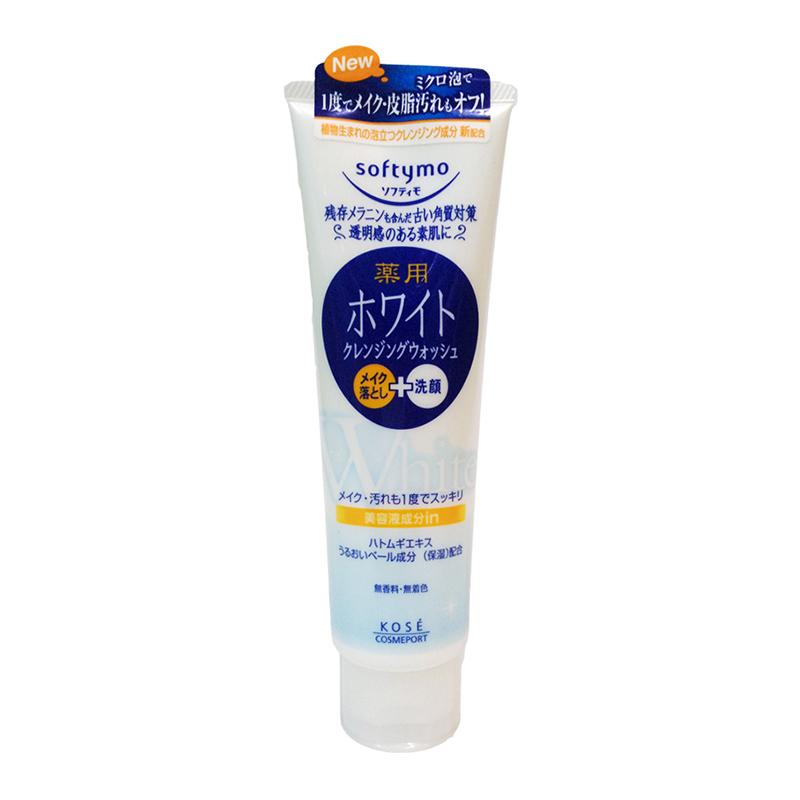 Kose Cosmeport Softymo Cleansing Wash White 210g