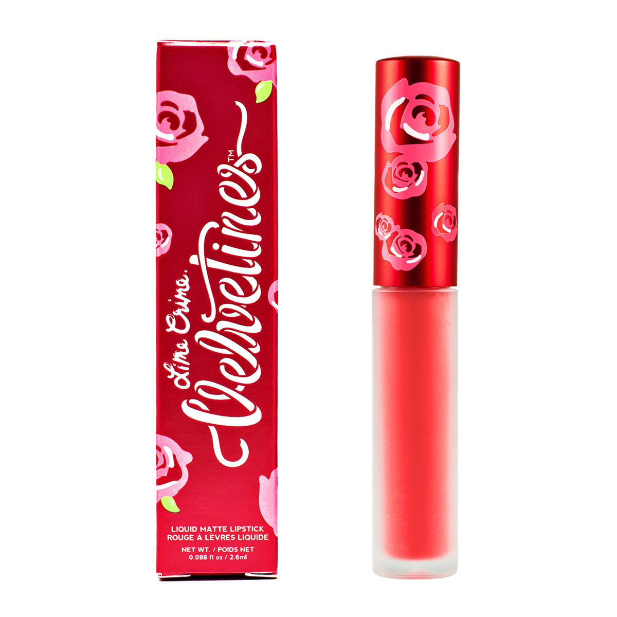 Lime Crime Matte Velvetines #Suedeberry
