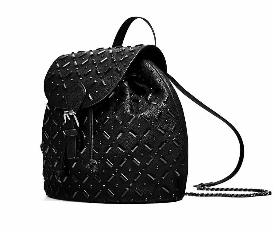 ZARA BACKPACK WITH DETAILS