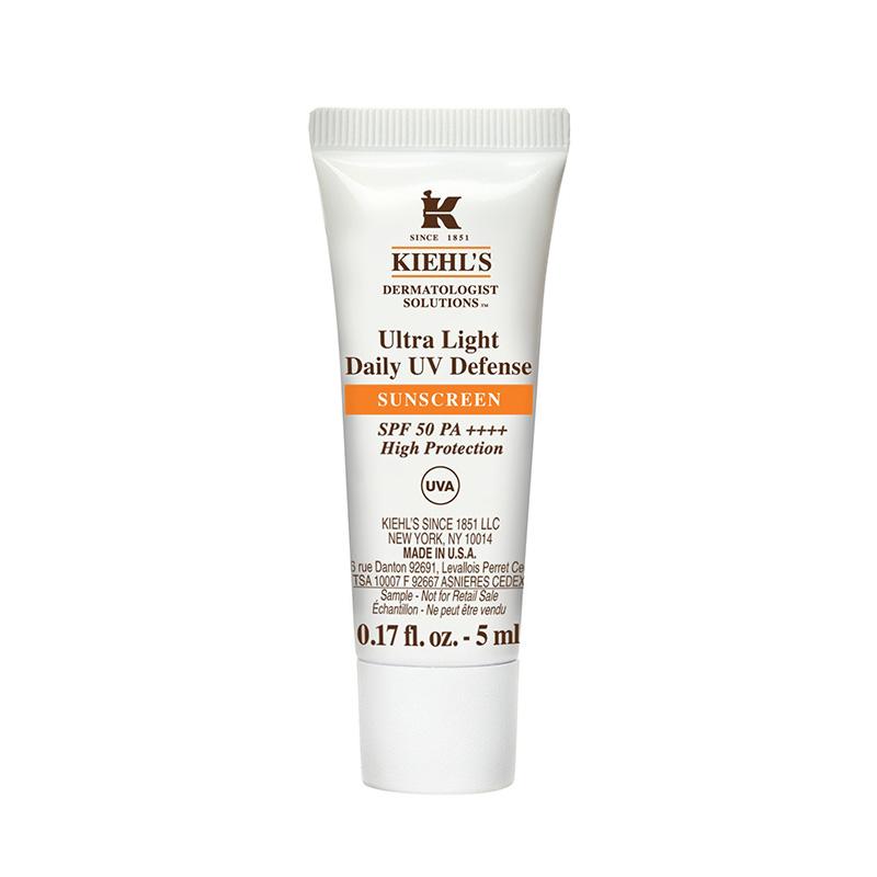*TESTER* Kiehl's Ultra Light Daily UV Defense SPF50 PA++++ 5ml