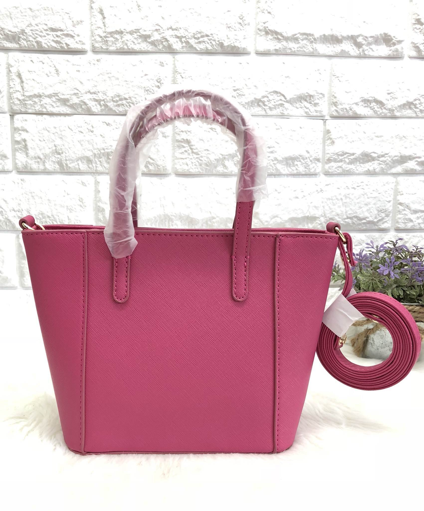 CHARLES & KEITH SAFFIANO BAG *Size S