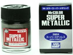 (เหลือ 1 ชิ้น รอเมล์ฉบับที่2 ยืนยัน ก่อนโอน) mr.super metallic sm04 stainless 18ml.