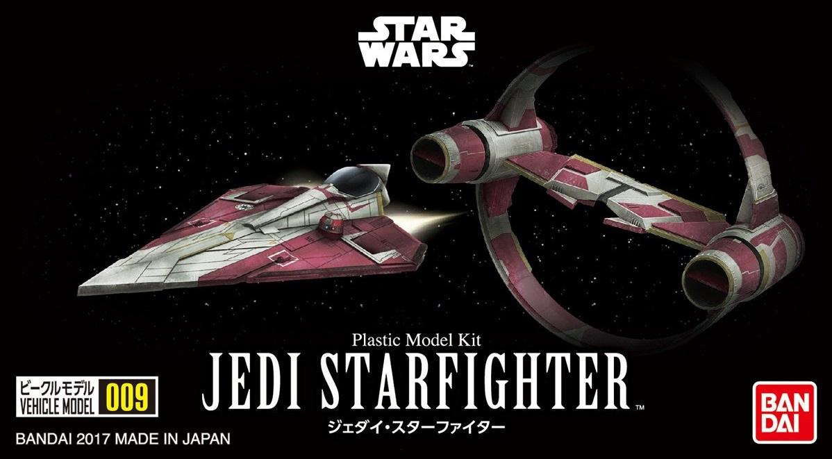 Vehicle Model 009《STARWARS》Jedi Starfighter 600Yen