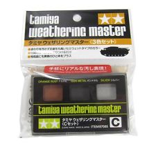Weathering Master C Set (C orange rust / gun metal / silver)