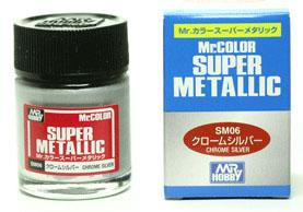 mr.super metallic sm06 chrome silver 18ml.