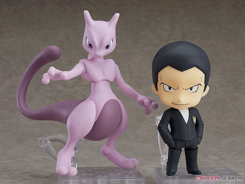 เปิดรับPreorder มีค่ามัดจำ 400 บาท Nendoroid Giovanni(Sakaki) & Mewtwo (PVC Figure)