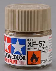 81757 acrylic mini (flat) xf-57 buff