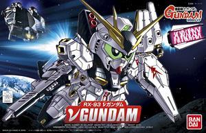 387 Nu Gundam (SD) (Gundam Model Kits)