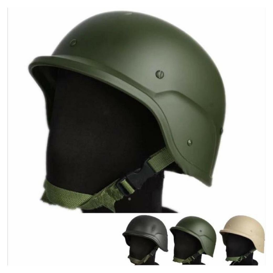 หมวกกันน็อก หมวกยุทธวิธีทางการทหาร หมวกสำหรับเกมส์ยิงปืน มาตรฐานสากล ป้องการกระแทกได้เป็นอย่างดี