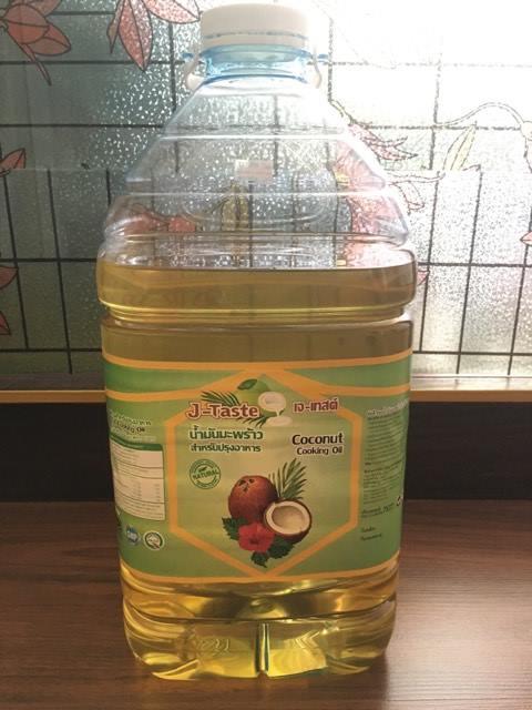 น้ำมันมะพร้าวสำหรับปรุงอาหาร (ถังลิตร) Sz.5 ลิตร.