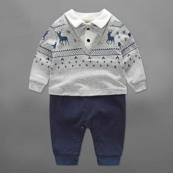 ชุดหมีเด็ก ชุดหล่อ กางเกงกรม ขนาด 0-3 เดือน