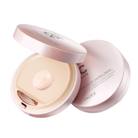 [PRE] The Face Shop Face it Aura Color Control CC Cream #สี1 เนื้อบางเบา ช่วยปกปิดฝ้า จุดด่างดำ เพื่อผิวเรียบเนียน ช่วยปรับสีผิวให้กระจ่างใส